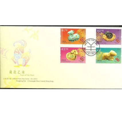 Znaczek Hong Kong 2015 Mi 1944-1947 FDC
