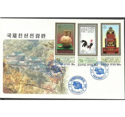 Znaczek Korea Północna 2008 Mi 5319-5321 FDC