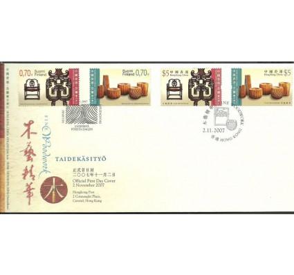 Znaczek Hong Kong 2007 Mi 1462-1463+FNL1878-1879 FDC