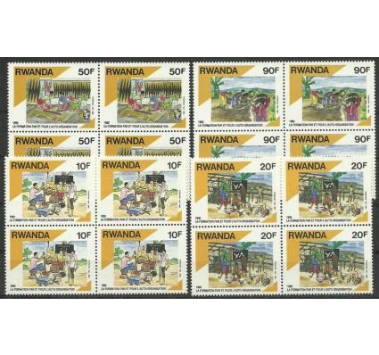 Znaczek Rwanda 1992 Mi 1446-1449 Czyste **