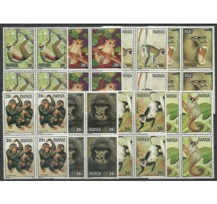 Znaczek Rwanda 1978 Mi 922-929 Czyste **