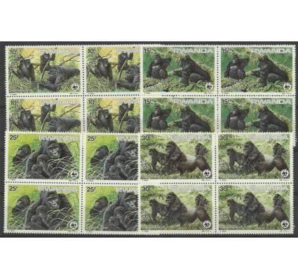 Znaczek Rwanda 1985 Mi 1292-1295 Czyste **