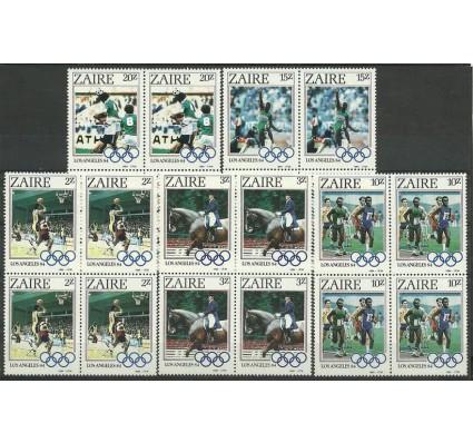Znaczek Kongo Kinszasa / Zair 1984 Mi 861-865 Czyste **