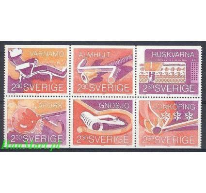 Szwecja 1989 Mi 1559-1564 Czyste **