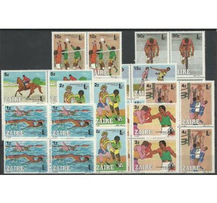 Znaczek Kongo Kinszasa / Zair 1985 Mi 889-896 Czyste **