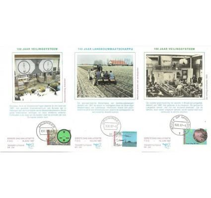 Znaczek Holandia 1987 Mi 1320-1322 Karta Max