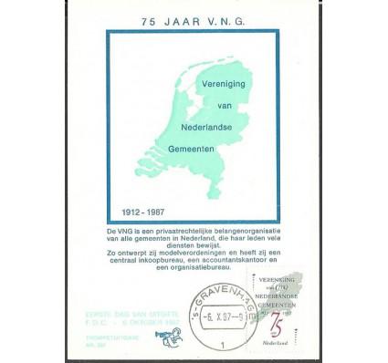 Znaczek Holandia 1987 Mi 1326 Karta Max