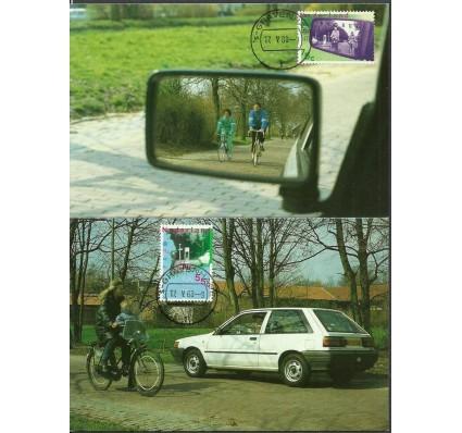 Znaczek Holandia 1988 Mi 1343-1344 Karta Max