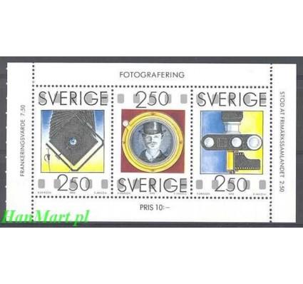 Szwecja 1990 Mi h-blatt 1630-1632 Czyste **