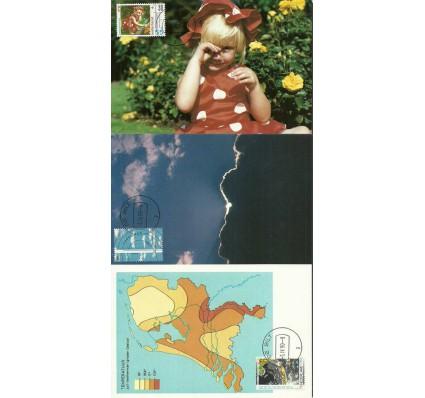 Znaczek Holandia 1990 Mi 1379-1381 Karta Max
