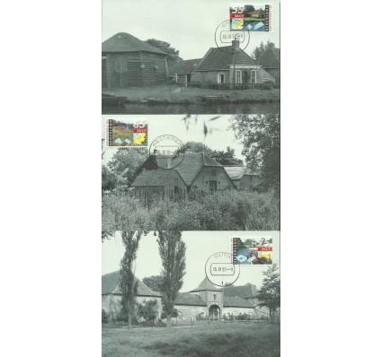 Znaczek Holandia 1991 Mi 1403-1405 Karta Max