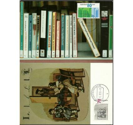 Znaczek Holandia 1991 Mi 1421-1422 Karta Max