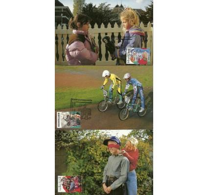 Znaczek Holandia 1991 Mi 1423-1425 Karta Max