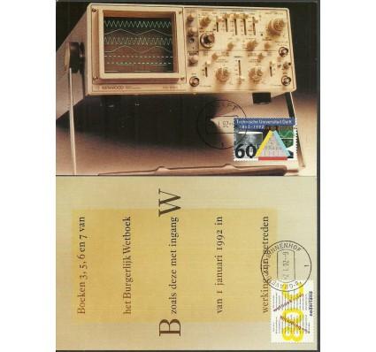 Znaczek Holandia 1992 Mi 1427-1428 Karta Max