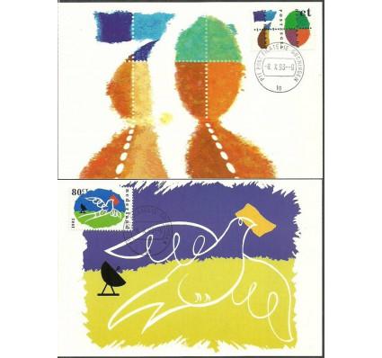 Znaczek Holandia 1993 Mi 1490-1491 Karta Max