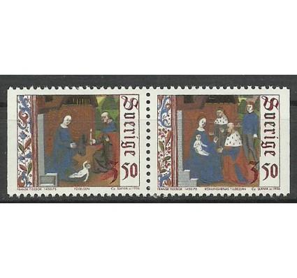 Znaczek Szwecja 1996 Mi 1969-1970 Czyste **