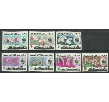 Znaczek Malezja 1965 Mi neg 79-85 Czyste **