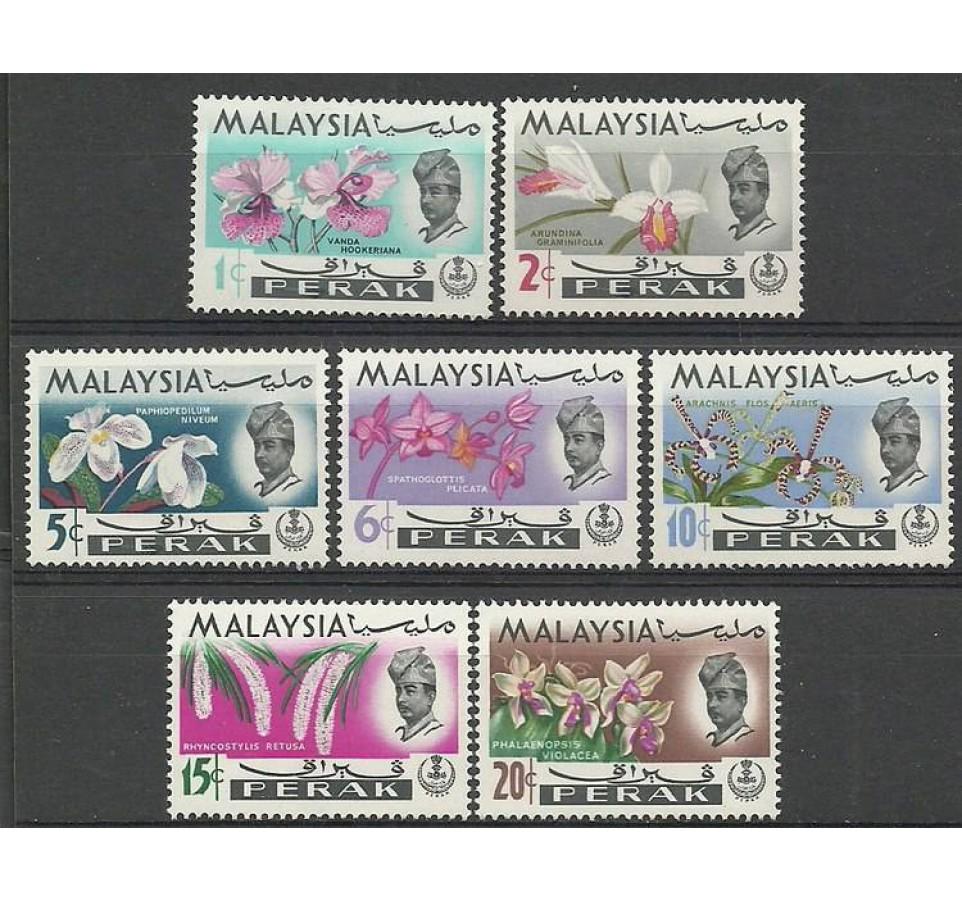 Malezja 1965 Mi prk 115-121 Czyste **