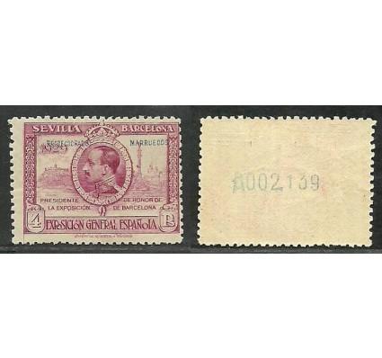 Znaczek Maroko Hiszpańskie 1929 Mi 116A Czyste **