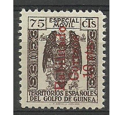 Znaczek Gwinea Hiszpańska 1940 Mi 218II Z podlepką *