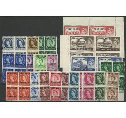 Znaczek Tanger 1957 Mi 91-110 Czyste **