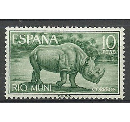 Znaczek Rio Muni 1964 Mi 56 Czyste **