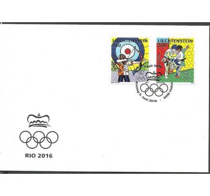 Znaczek Liechtenstein 2016 Mi 1818-1819 FDC
