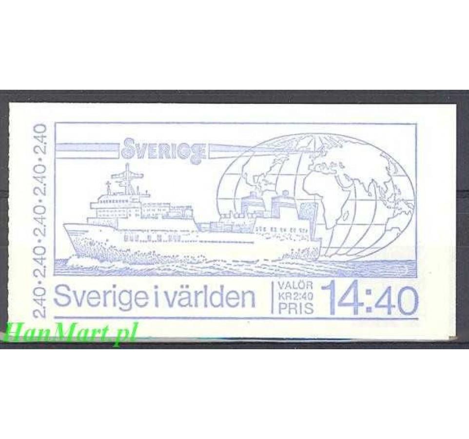Szwecja 1981 Mi mh 84 Czyste **