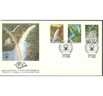 Znaczek Grecja 1988 Mi 1692-1694C FDC