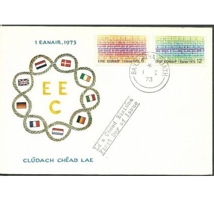 Znaczek Irlandia 1973 Mi 287-288 FDC