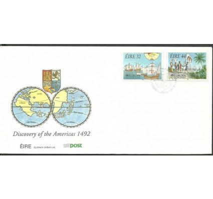 Znaczek Irlandia 1992 Mi 792-793 FDC