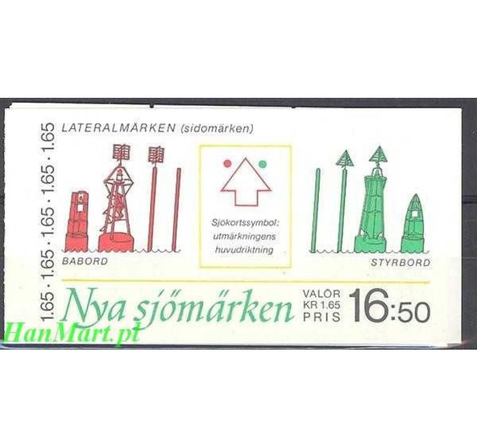 Szwecja 1982 Mi mh 88 Czyste **