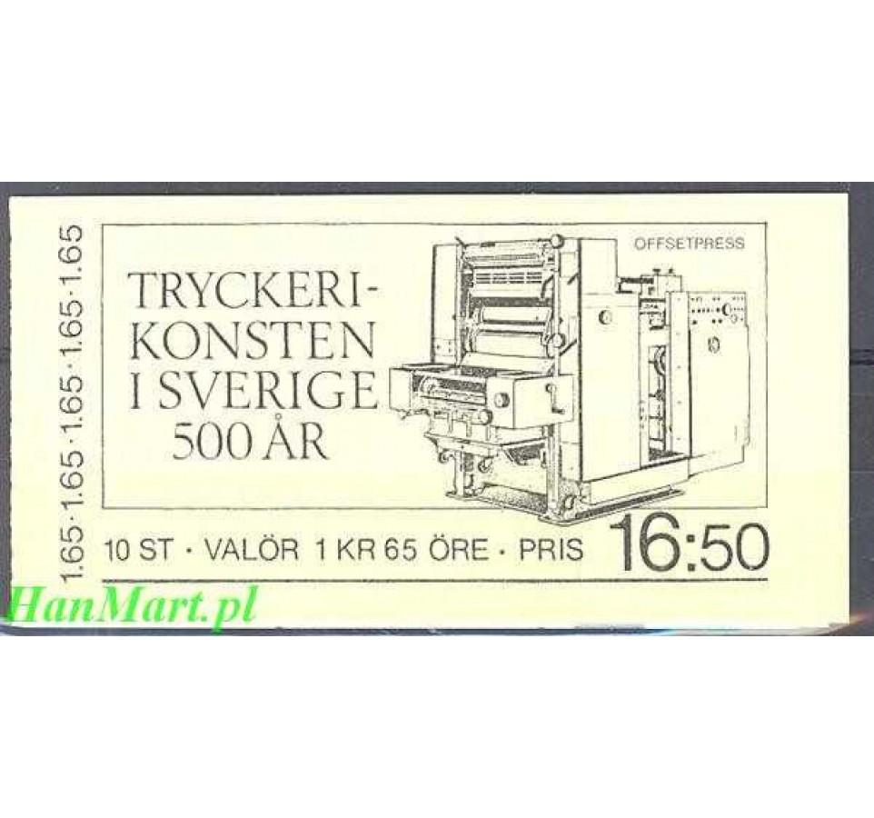 Szwecja 1983 Mi mh 92 Czyste **