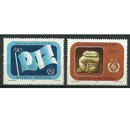 Znaczek Argentyna 1987 Mi 1859-1860 Czyste **