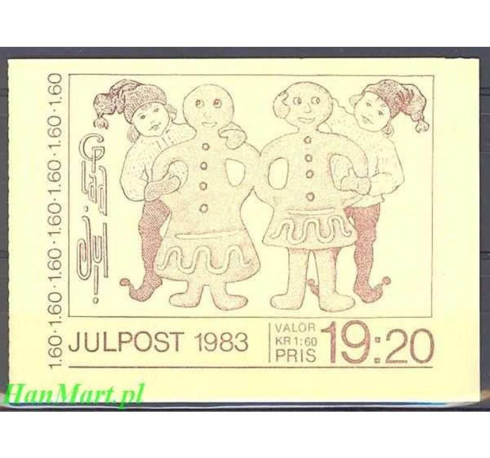 Szwecja 1983 Mi mh 95 Czyste **