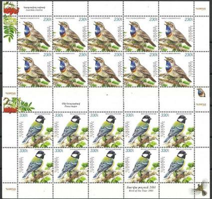 Znaczek Armenia 2011 Mi ark 753-754 Czyste **