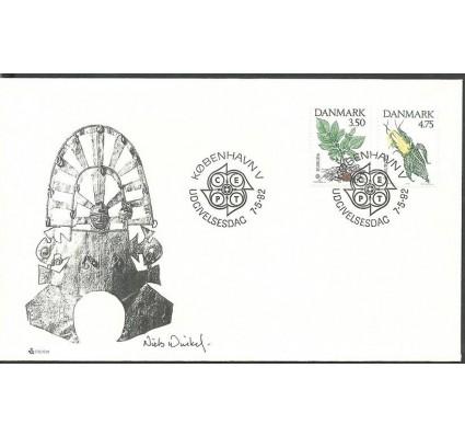 Znaczek Dania 1992 Mi 1025-1026 FDC