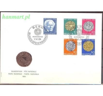 Szwajcaria 1964 Mi 795-799 FDC