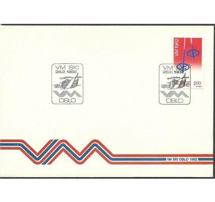 Znaczek Norwegia 1982 Mi 853 FDC