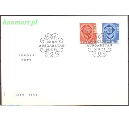 Znaczek Szwajcaria 1964 Mi 800-801 FDC