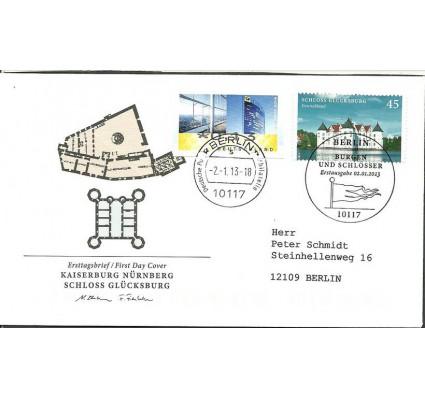 Znaczek Niemcy 2013 Mi adr 3016 FDC