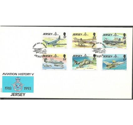 Znaczek Jersey 1993 Mi 615-620 FDC