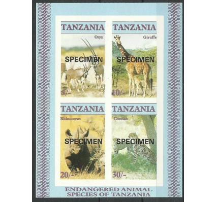 Znaczek Tanzania 1986 Mi spe bl 58B Czyste **