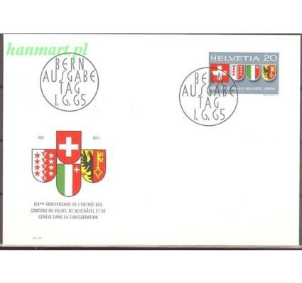 Szwajcaria 1965 Mi 819 FDC