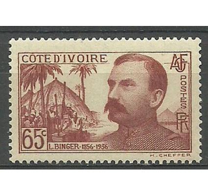 Znaczek Wybrzeże Kości Słoniowej 1937 Mi 159 Czyste **