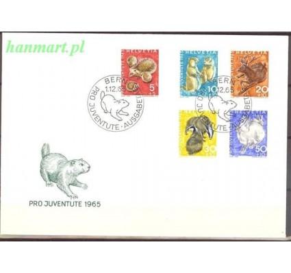 Szwajcaria 1965 Mi 826-830 FDC