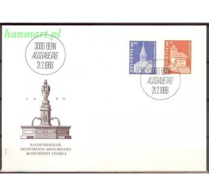 Szwajcaria 1966 Mi 831-832 FDC
