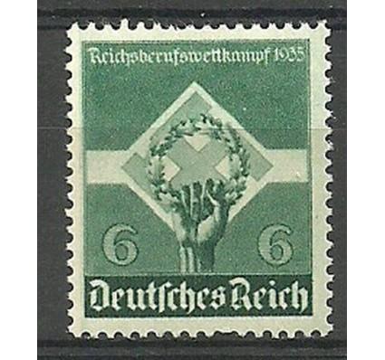 Znaczek Deutsches Reich / III Rzesza 1935 Mi 571 Czyste **
