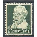 Deutsches Reich / III Rzesza 1935 Mi 573 Czyste **