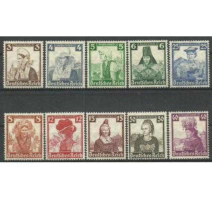 Znaczek Deutsches Reich / III Rzesza 1935 Mi 588-597 Z podlepką *